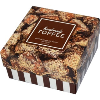 Toffee Boutique Vegan Chocolate Toffee Box (Pack of 2)