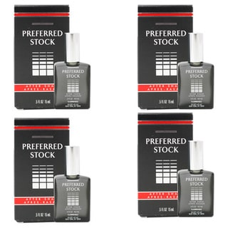Coty Men's Preferred Stock 0.5-ounce Aftershave (Pack of 4)
