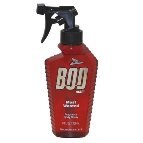 Parfums De Coeur Men's Bod Man Most Wanted 8-ounce Fragrance Body Spray