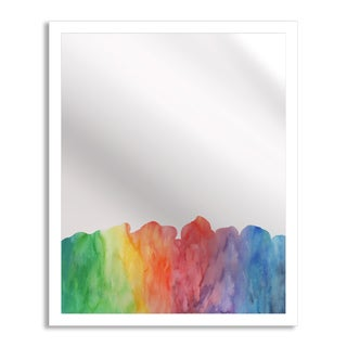 Gallery Direct Watercolor II Mirror Art
