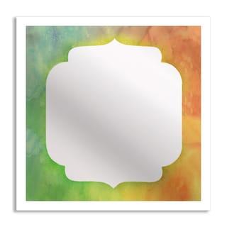 Gallery Direct Watercolor III Mirror Art