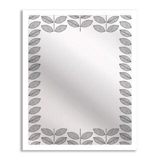 Gallery Direct Leaves II Mirror Art