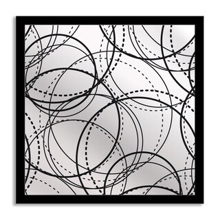 Gallery Direct Circles Mirror Art