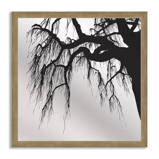 Gallery Direct Thaikrit 'Oak in Silhouette' Mirror Art