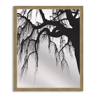 Gallery Direct Oak in Silhouette Mirror Art