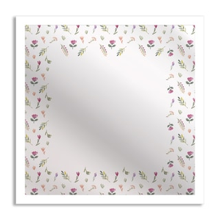 Gallery Direct Flowers in Spring Mirror Art