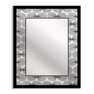 Gallery Direct Ivook 'Swirl' Mirror Art