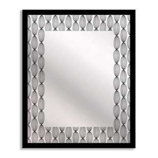 Gallery Direct Ivook 'Dancing Ellipse' Mirror Art