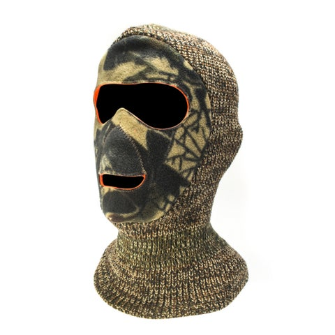 QuietWear Youth Reversible Camouflage Facemask