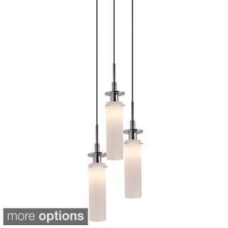 Sonneman Candle 3-light Round Pendant