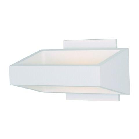 Alumilux E41302-WT White Aluminum Wall Sconce