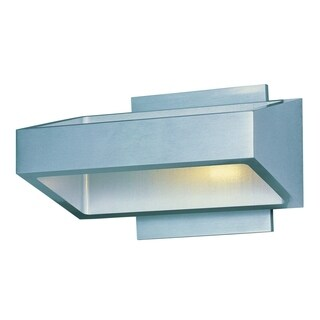 Alumilux E41302-SA Silver Aluminum Wall Sconce