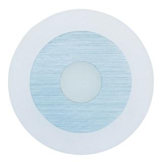 Alumilux E41315-90SA White Aluminum Circular Wall Sconce