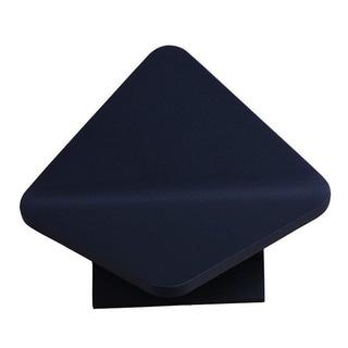 Alumilux E41318-BZ Black Folded Diamond Aluminum Wall Sconce