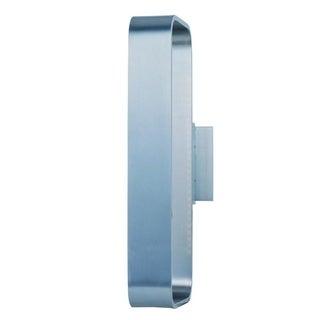 Alumilux E41324-SA Open Rectangular Silver Aluminum Wall Sconce