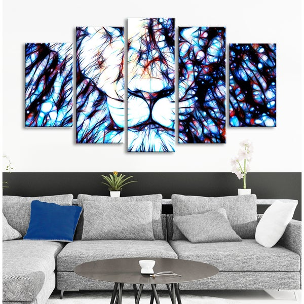 Design Art 'Leader of the Pack' Gallery-wrapped Canvas Print Art