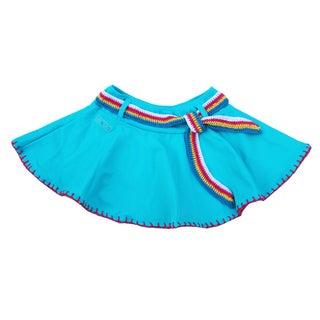 Azul Swimwear 'Hippie Hippie Shake' Turquoise Swim Skirt