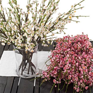 Decorative Plum Blossom Branches (Set of 12)