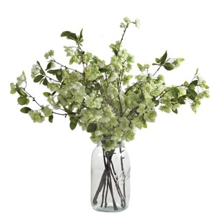 Decorative Pear Blossom Branch (Set of 4)