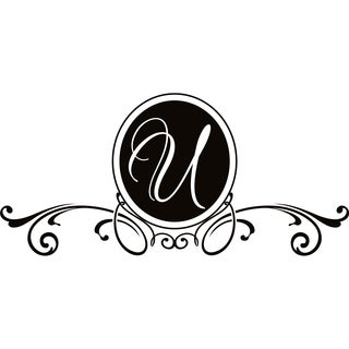 Design on Style U Monogram Vinyl Wall Art Lettering