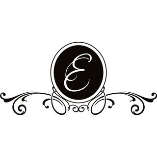 Design on Style E Monogram Vinyl Wall Art Lettering