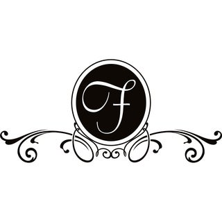 Design on Style F Monogram Vinyl Wall Art Lettering