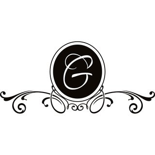Design on Style G Monogram Vinyl Wall Art Lettering