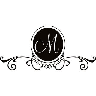 Design on Style M Monogram Vinyl Wall Art Lettering
