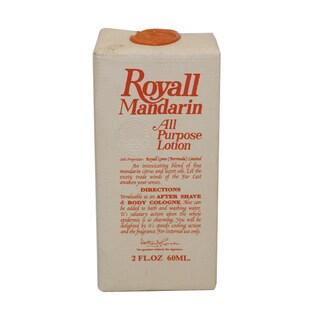 Royall Fragrances Royall Mandarin of Bermuda Men's 2-ounce All Purpose Lotion