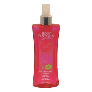 Body Fantasies Signature Pink Vanilla Kiss Fantasy Women's 8-ounce Fragrance Body Spray