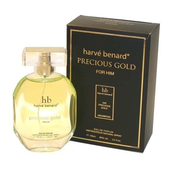 Shop Harve Benard Precious Gold Mens 34 Ounce Eau De Parfum Spray