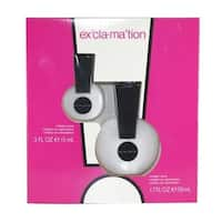 Coty Exclamation Women's 2-piece Fragrance Set