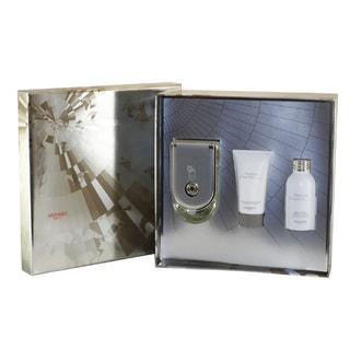 Hermes Voyage D'Hermes Men's 3-piece Fragrance Set