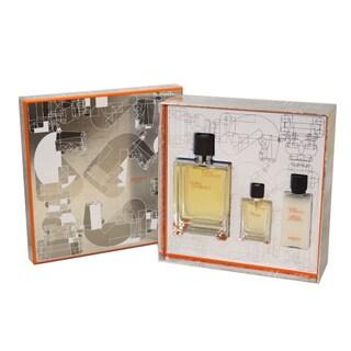 Hermes Terre D'Hermes Men's 3-piece Fragrance Set