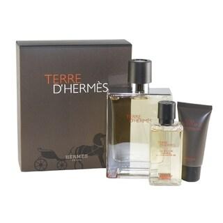 Terre D'Hermes Men's 3-piece Fragrance Set