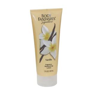 Body Fantasies Signature Vanilla Fragrance Women's 7-ounce Moisturizing Lotion