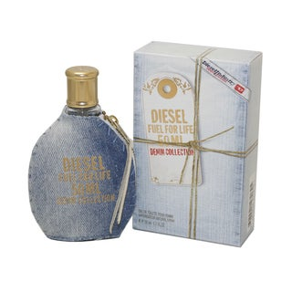 Diesel Fuel For Life Denim Women's 1.7-ounce Eau de Toilette Spray