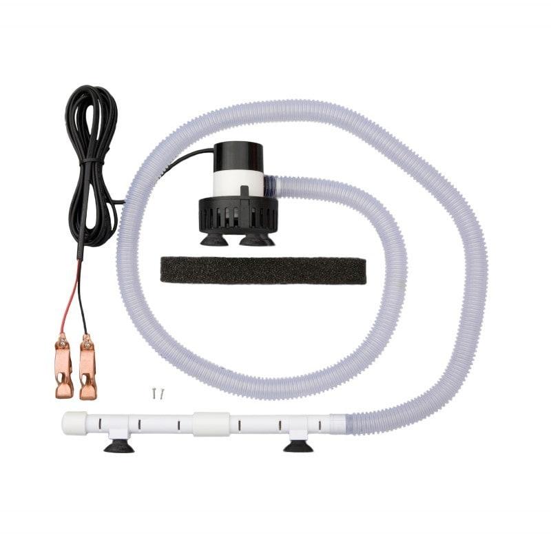 Marine Metal 12 Volt DC Aeration System with Bilge Pump a...
