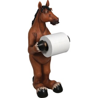 River's Edge Products Animal Figurine Standing Toilet Paper Holder