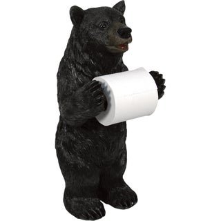 River's Edge Products Animal Figurine Standing Toilet Paper Holder (2 options available)