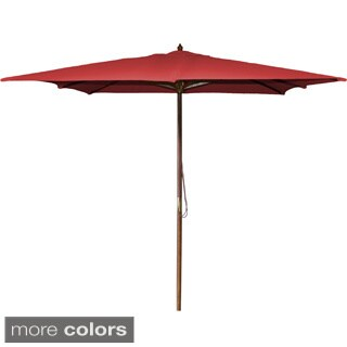 Jordan Manufacturing 8.5 Square Wooden Umbrella