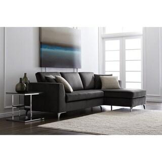 Sunpan '5West' Grey Sectional Sofa