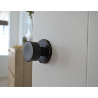 Sure-Loc Modern Round Doorknob Vintage Oil-rubbed Bronze