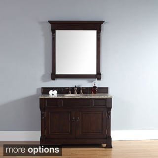 48-inch Brookfield Burnished Mahogany Single Cabinet Vanity
