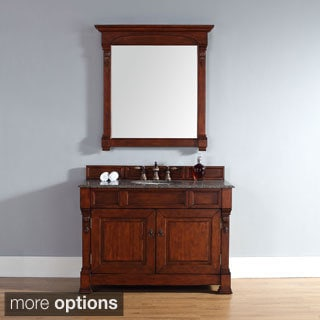 48-inch Brookfield Warm Cherry Single Cabinet Vanity