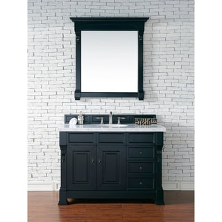 48-Inch Brookfield Antique Black Single Drawer Vanity