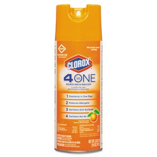 Clorox 4-in-1 Citrus 14-ounce Aerosol Disinfectant and Sanitizer