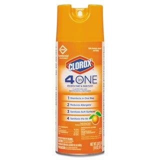 Clorox 4-in-1 Citrus 14-ounce Aerosol Disinfectant and Sanitizer