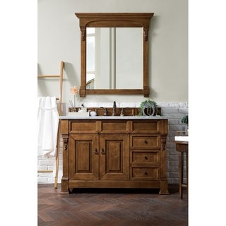 Link to Brookfield Country Oak 48-inch Single Cabinet with Drawers Similar Items in Bathroom Vanities