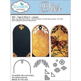 Elizabeth Craft Tags & More Metal Dies-Tag 3